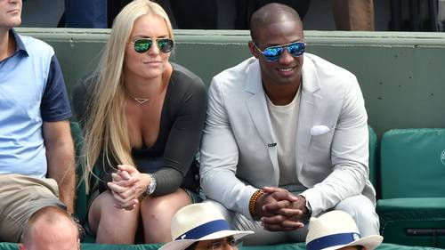 Lindsey Vonn i Paris med kæresten Kenan Smith. (Foto: All Over Press)