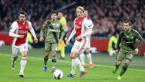 Kasper Dolberg kan godt se svagheder i Manchester Uniteds trup forud for Europa League-finalen. Foto: All Over Press