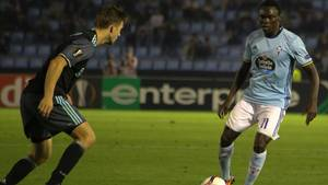 Pione Sisto bragte Celta Vigo foran i 3-0-sejren. Arkivfoto: All Over Press
