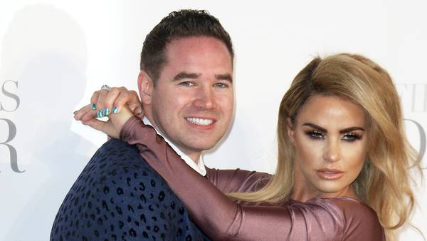 Katie Price og Kieran Hayler da alt stadig var fryd og gammen. Foto: All Over Press