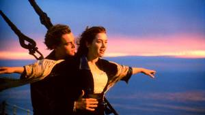 Det ikoniske billede fra filmen, som Celine Dion sang soundtracket til. Foto: All Over Press