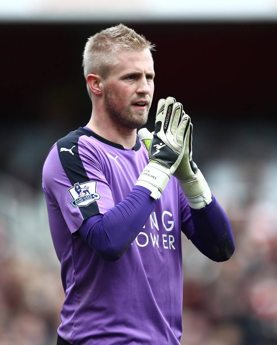 Kasper Schmeichel hitter i Leicester (Foto: All Over)