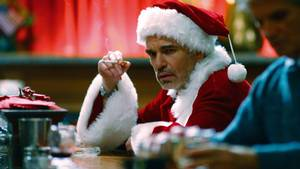 Billy Bob Thornton spiller hovedrollen i Bad Santa. Foto: All Over