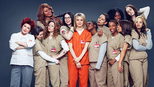 Kvinderne har begge arbejdet på tv-serien 'Orange is the New Black'. Foto: Netflix