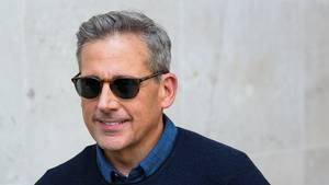 Steve Carell fotograferet i London 21. juni. Foto: All Over