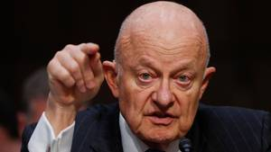 Den tidligere efterretningschef i National Intelligence i USA,  James Clapper. Foto: AP Photo/Pablo Martinez Monsivais