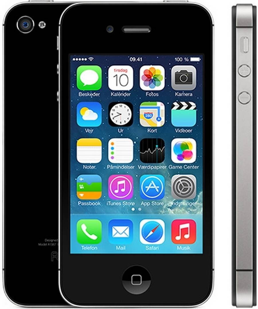 opdatere iphone 4