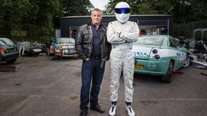 Matt LeBlanc og The Stig. Foto: All Over
