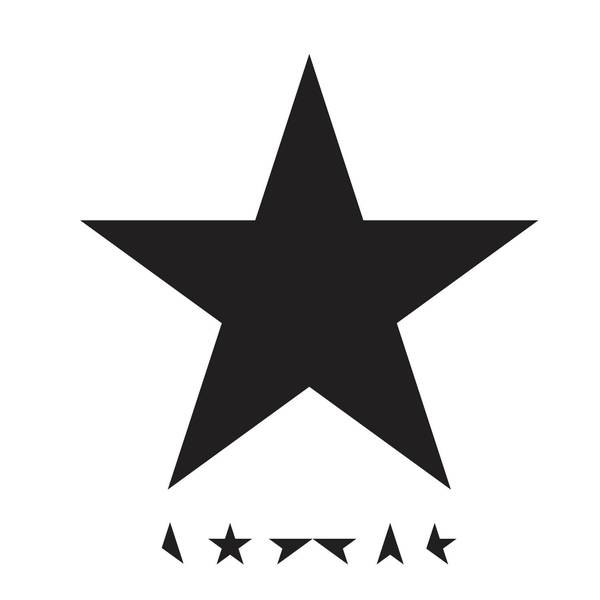 Coveret til cd-versionen af 'Blackstar'