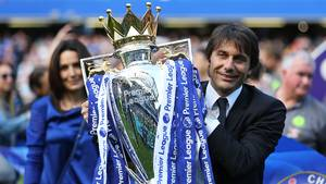Antonio Conte er klar til at bryde klubbens transferrekord i jagten på endnu et Premier League-trofæ. Foto: All Over Press