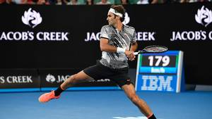 Roger Federer er videre ved Australian Open. Foto: All Over Press