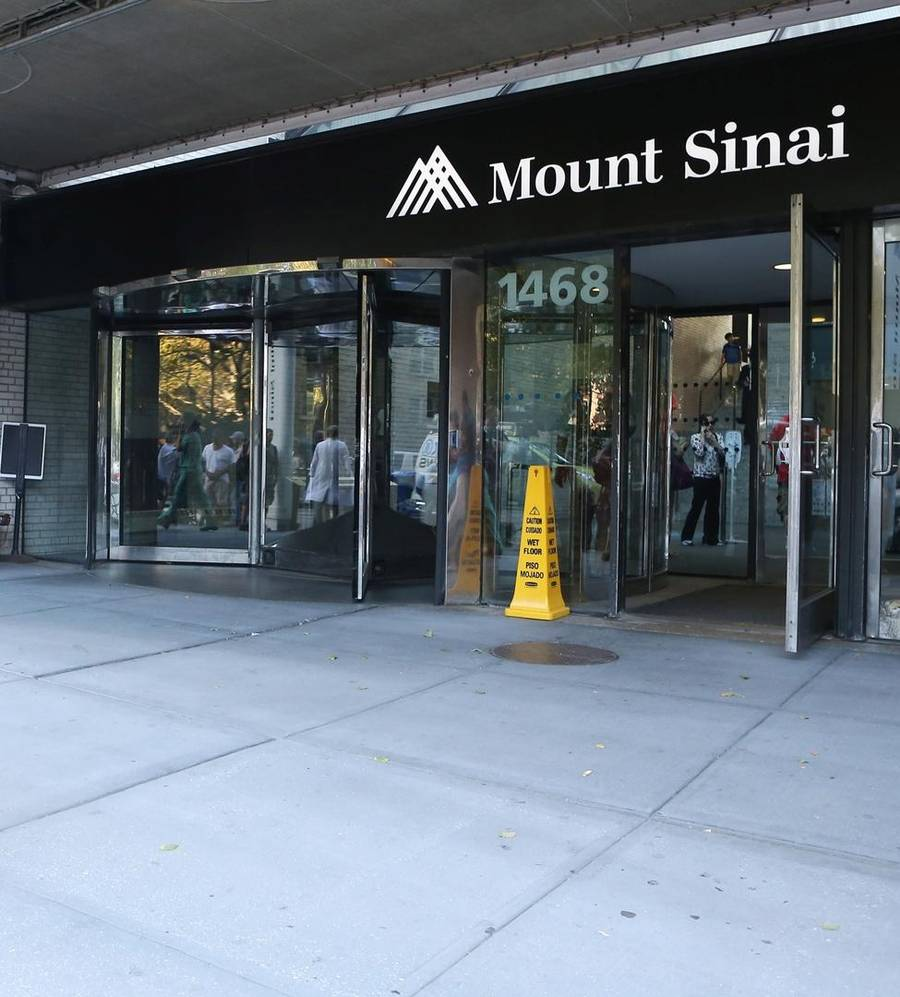 Mount Sinai ligger på Manhattan i New York (Foto: All Over)