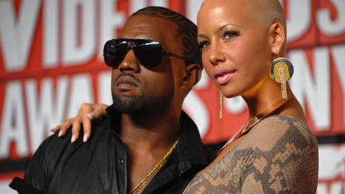 Kanye West og Amber Rose, da alt var godt i 2009. Foto: All Over Press