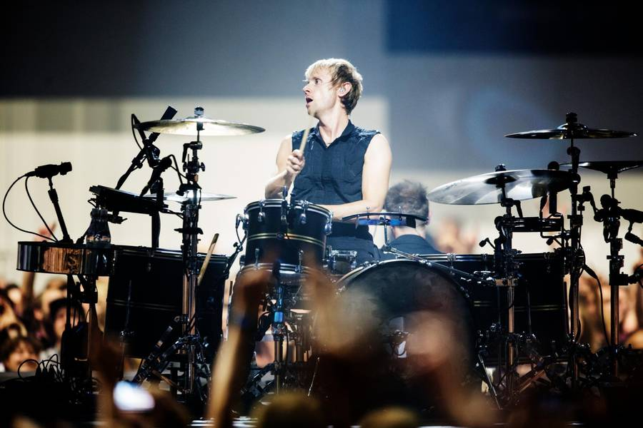 Dominic Howard. (Foto: Polfoto)