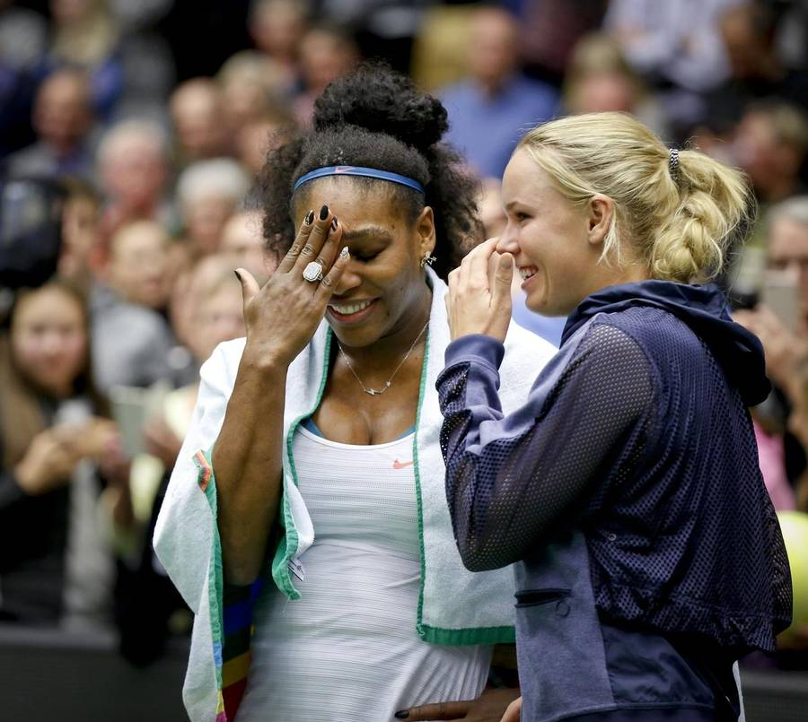 Caroline Wozniacki og Serena Williams mødes i nat klokken 021 i New York (Foto: Anders Brohus)