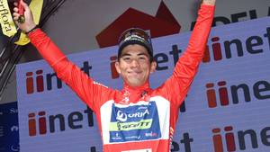 Caleb Ewan er igen hurtigere i spurten end Peter Sagan. Foto: All Over Press