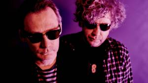 Jim og William Reid fra The Jesus and Mary Chain, der har holdt nitten års pladepause. Foto: Steve Gullick