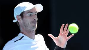 Andy Murray er færdig ved Australian Open. Foto: All Over Press