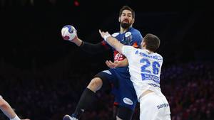 Karabatic og Frankrig er klar til kvartfinalen. Foto: All Over Press