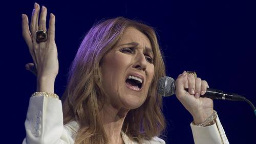 Céline Dion i Montreal i Canada i 2016. Foto: Canadian Press/REX/All Over Pres