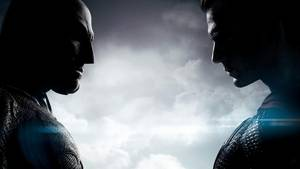 Ben Affleck og Henry Cavill i 'Batman V Superman: Dawn Of Justice'. Foto Warner