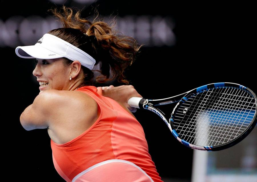 Garbiñe Muguruza var for stærk for Barbora Strycova. (Foto: AP)