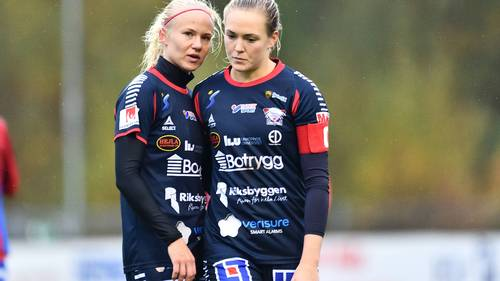 Pernille Harder og Magdalena Eriksson i Linköping-tiden. (Foto: All Over Press)