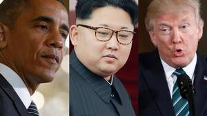 Nordkorea mener, at Trump minder for meget om Obama (Foto: AP)
