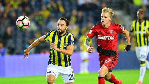 Rajtoral ses her i kamp mod Fenerbache. Foto: All Over Press