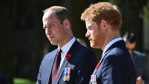 Prins William og prins Harry er angiveligt med i den nye 'Star Wars'-film. Foto: AP