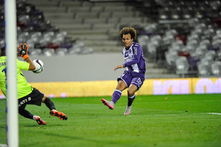 Martin Braithwaite sikrede et point til sit hold. (Foto: All Over Press)