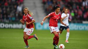 Danmark vandt 1-0 over Norge og er klar til kvartfinalen (Foto: All Over Press)