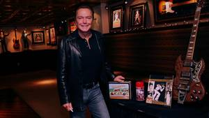 David Cassidy på Hard Rock Cafe i New York. Foto: All Over