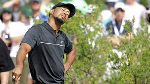 Tiger Woods har sit at slås med. Foto: AP