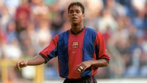 Nike har skrevet kontrakt med Patrick Kluiverts blot ni-årige søn. Foto: All Over Press