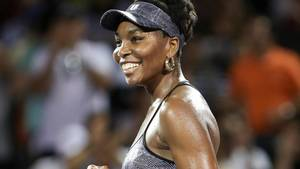 Venus Williams er klar til semifinalen i Miami Open. (Foto: AP)