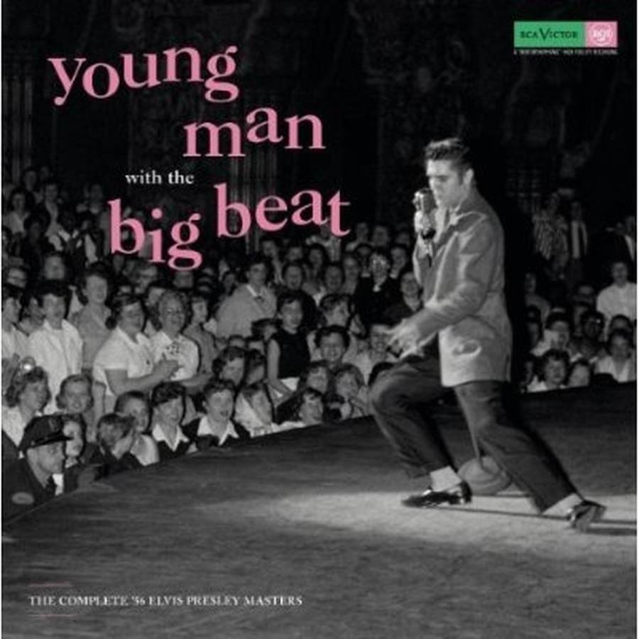 Coveret til Elvis' boks 'Young Man With the Big Beat'.