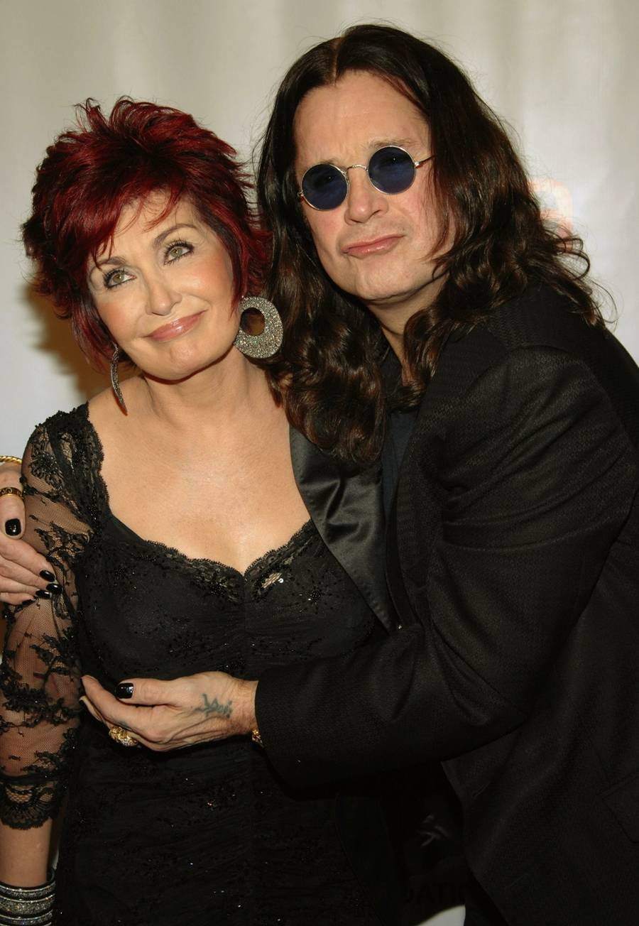 Pictures of ozzy and sharon osbourne Ozzy Osbourne - Prince of Darkness - m Music
