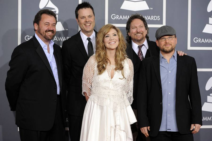 Krauss & Union Station til Grammy-uddeling i 2012. (Foto: AP/Chris Pizzello)