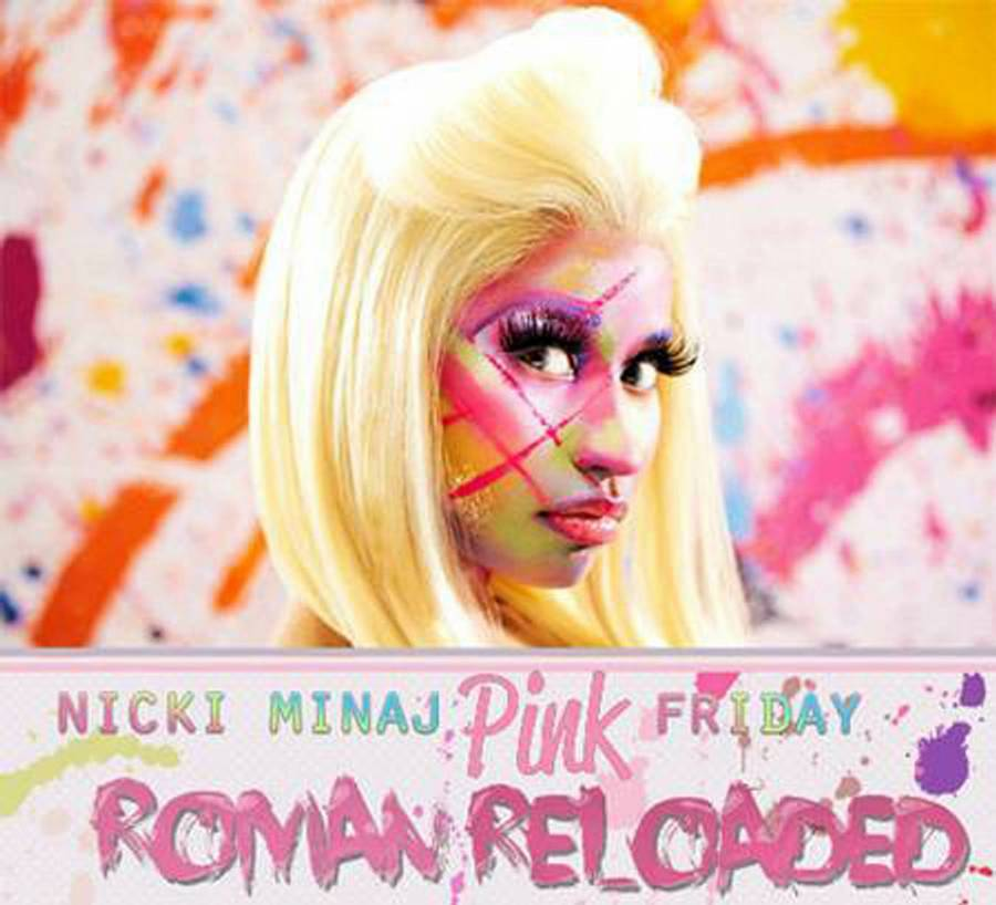 Coveret til Minajs nye 'Pink Friday: Roman Reloaded'.