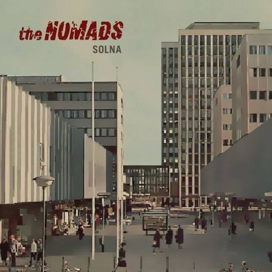 Coveret til The Nomads' comeback-album, 'Solna'.