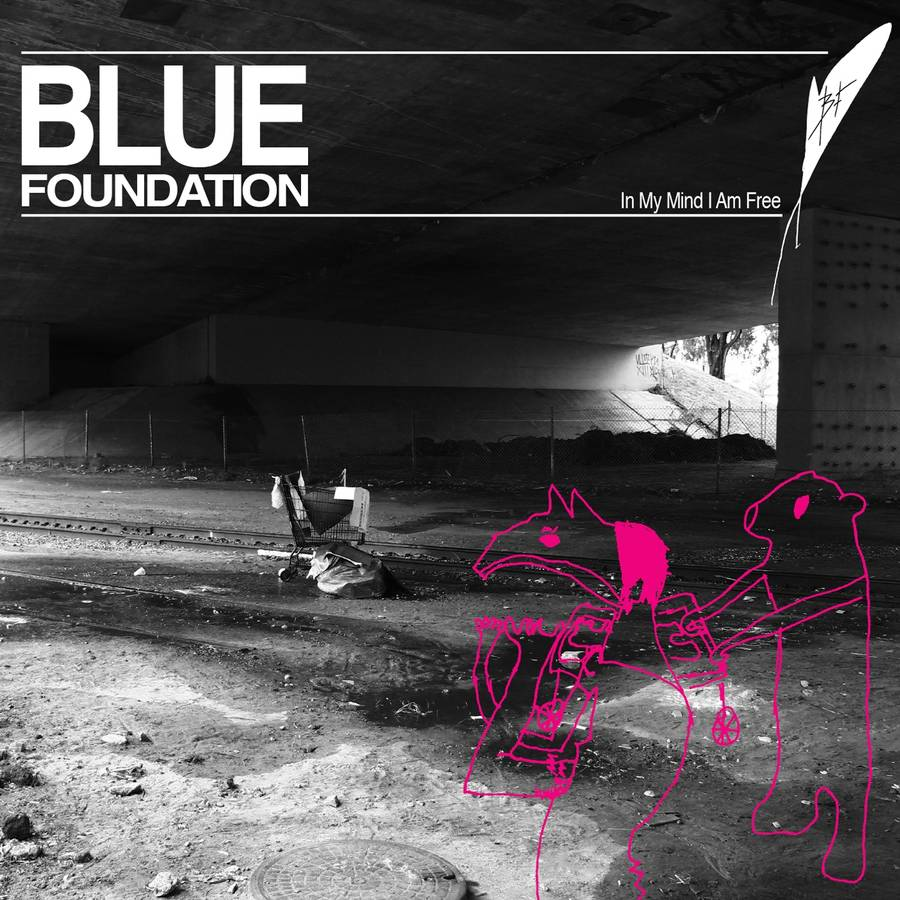 Coveret til Blue Foundations 'In My Mind I Am Free'.