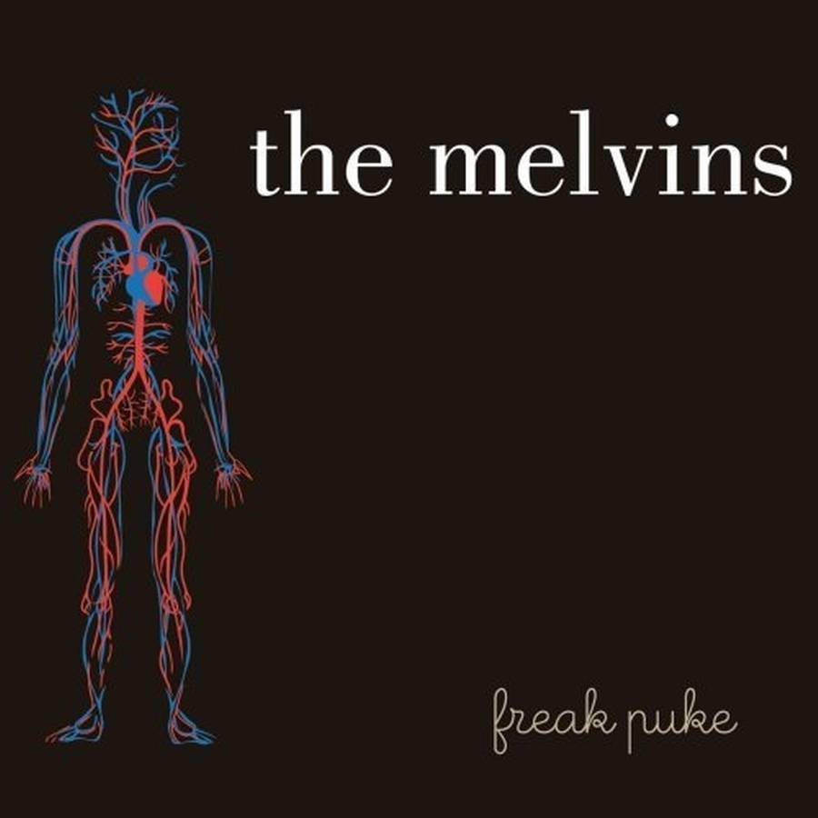 Coveret til The Melvins' aktuelle album, 'Freak Puke'.