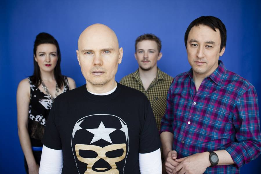The Smashing Pumpkins - tilbage med 'album inde i et album'. (Foto: Paul Elledge)