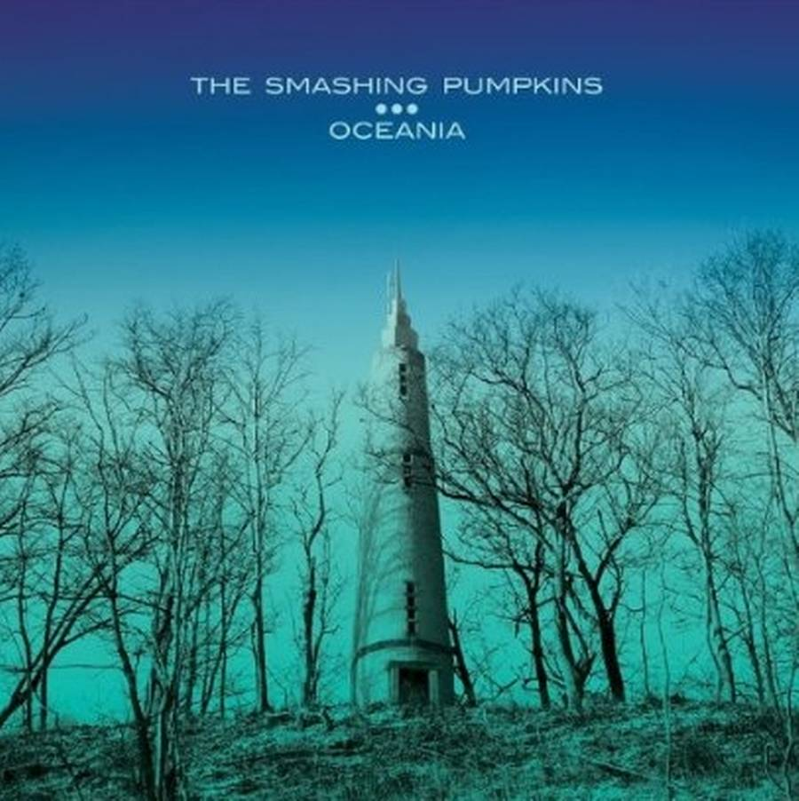 Coveret til The Smashing Pumpkins' nye 'Oceania'.