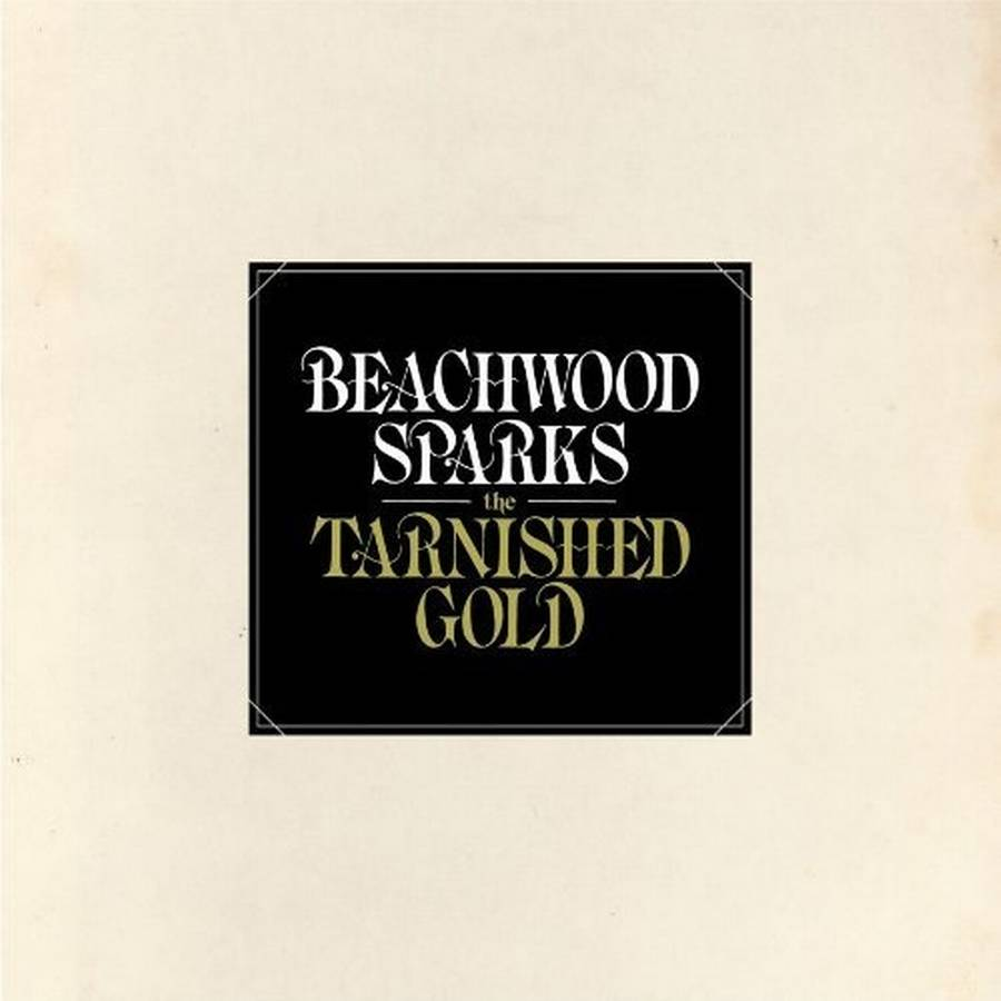 Coveret til Beachwood Sparks' 'The Tarnished Gold'.