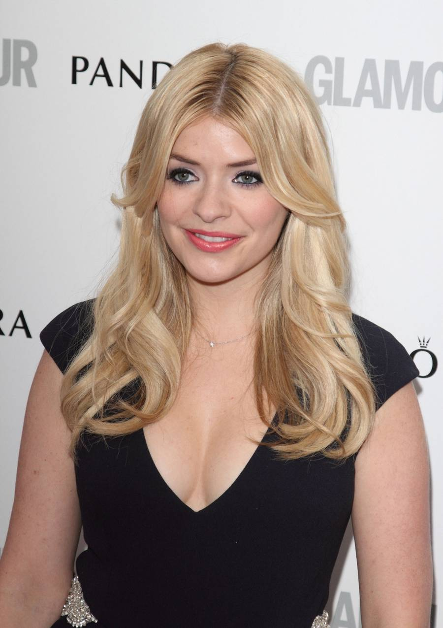 Holly Willoughby på andenpladsen. (Photoshot)
