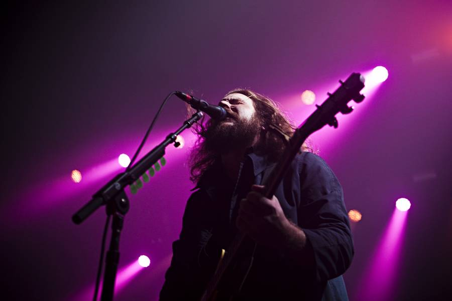Jim James i front for Kentuckys storladne My Morning Jacket. (Foto: Jesper Mortensen)