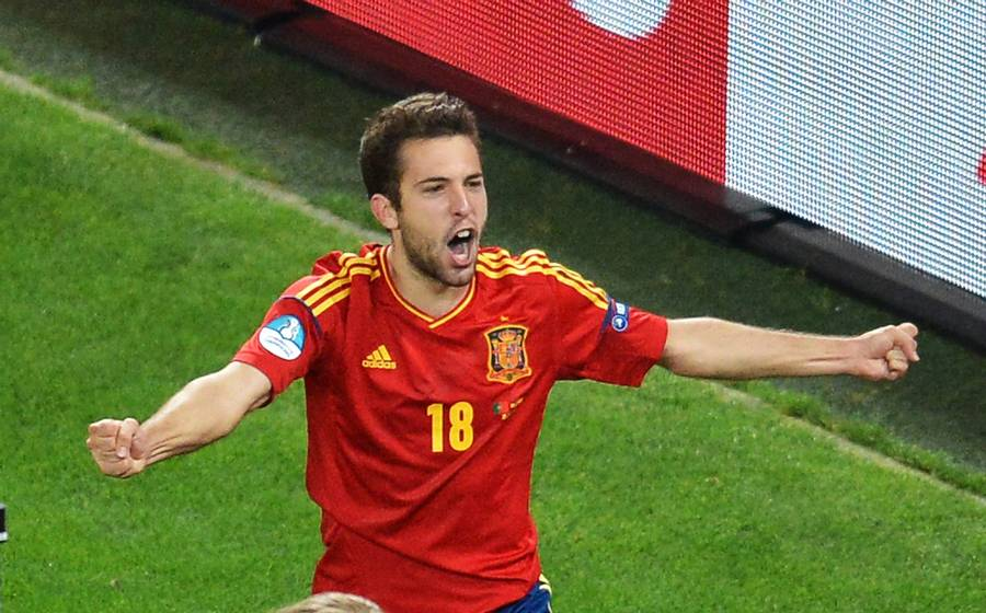 Jordi Alba skal med til London. (Foto: Zuma Press)