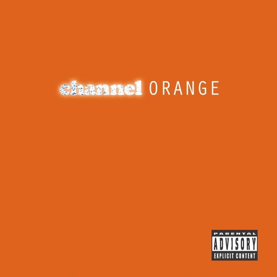 Coveret til Frank Oceans aktuelle 'channel ORANGE'.